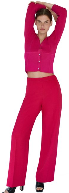 Item - Pink XS High-waisted New Pants Size 2 (XS, 26)
