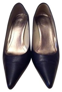 Coach Black Leather Pumps