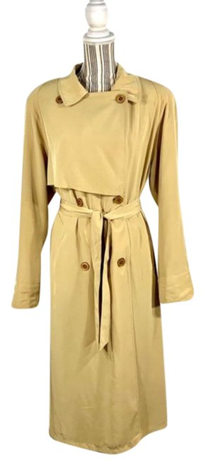 Item - Yellow Belted Coat Size 14 (L)