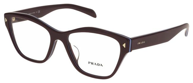 Item - Bordeaux Red Pin Pr27svf Blue Rx Optical Frame Square 55 Mm 27s Sunglasses