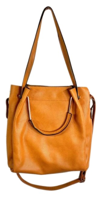 Item - Faux Leather 3-in-1 Purse Tan All Man Made Materials Shoulder Bag
