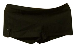 Wet Seal Cuffed Shorts Black