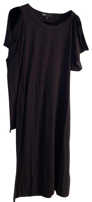 Item - Black By Yohji Yamamoto Faboulos Unique Style Comfortable Fabric Long Casual Maxi Dress Size 8 (M)