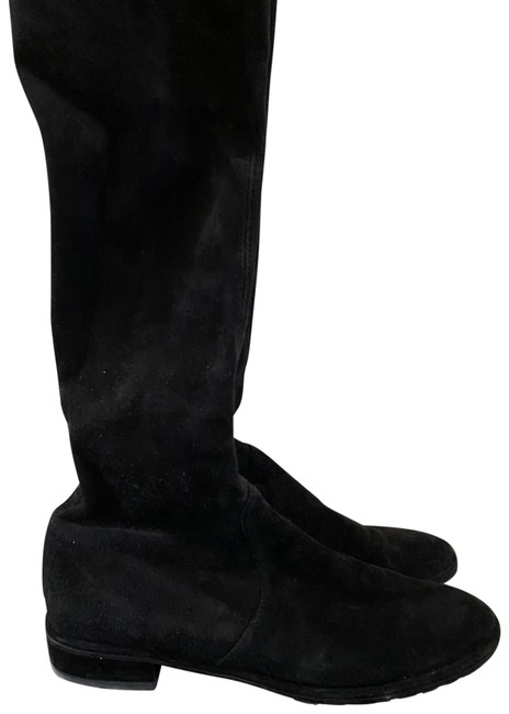 Item - Black Lowland Suede Over The Knee Boots/Booties Size US 7.5 Regular (M, B)