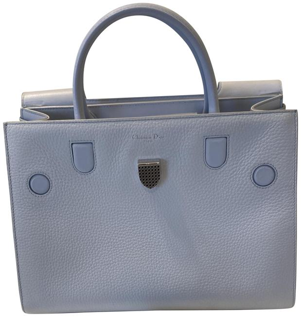 Item - ever Baby Blue Leather Tote