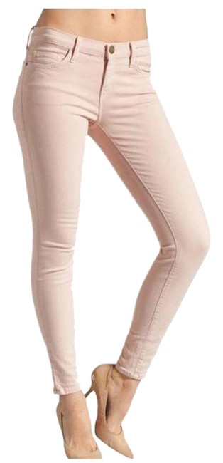 Item - Pink Light Wash Smoke Rose The Ankle Skinny Jeans Size 27 (4, S)