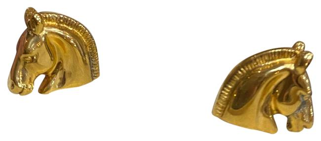 Item - Vintage Bijouterie Fantaisie Horse Head Clip On Earrings