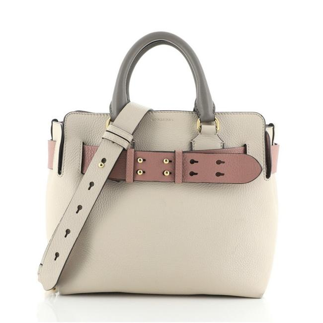 Item - Belt Small Neutral Pink Leather Tote
