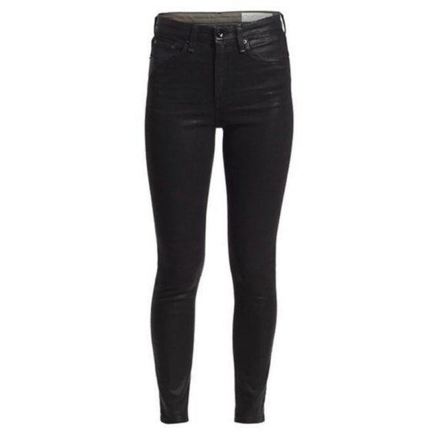 Item - Black Coated Nina Skinny Jeans Size 32 (8, M)