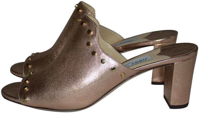 "Item - Rose Gold 8.5 Myla Studded 2.5"" Heels Mules/Slides Size EU 39.5 (Approx. US 9.5) Regular (M, B)"