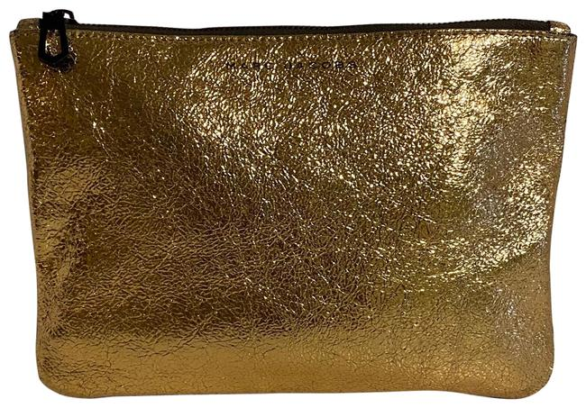 Item - Gold Pounch Cosmetic Bag