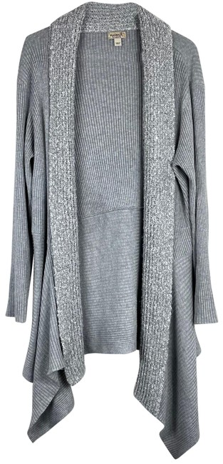 Item - Grey Long Draped Cardigan Size 12 (L)