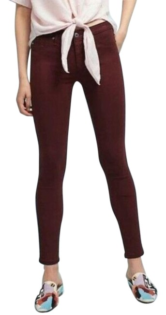 Item - Red Abbey Ankle Skinny Jeans Size 28 (4, S)
