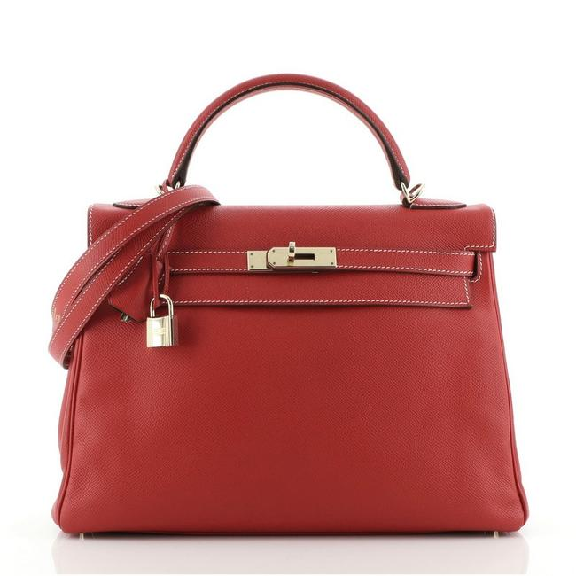 Item - Kelly Candy Handbag Epsom 32 Rouge Casaque (Red) Leather Tote