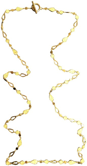 Item - Gold Tone With Crystals Necklace