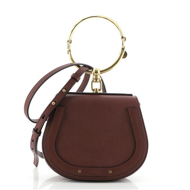 Item - Nile Small Red Leather Cross Body Bag
