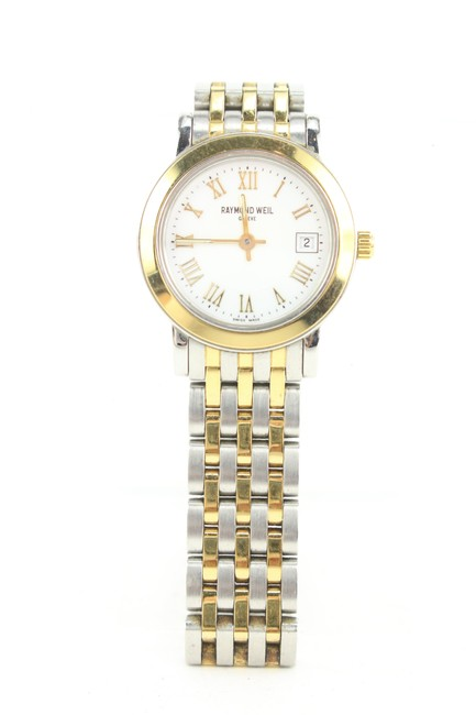 Item - Silver X Gold 5393 Toccata Diamond Two-tone Stainless Steel 35mm 106rw128 Watch