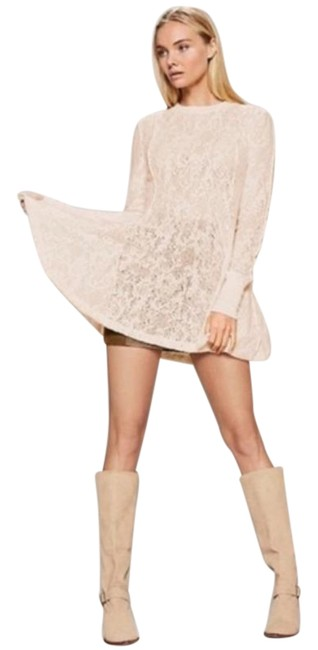 Item - Ivory Coffee In The Morning Chamoix M Tunic Size 8 (M)