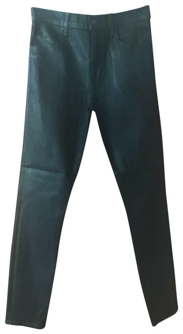 Item - Fearless Black Coated Alana Skinny Jeans Size 27 (4, S)