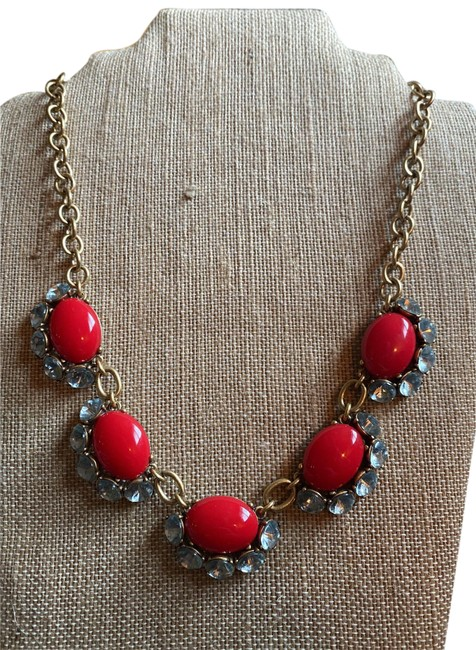 Item - Gold Red Mae Necklace