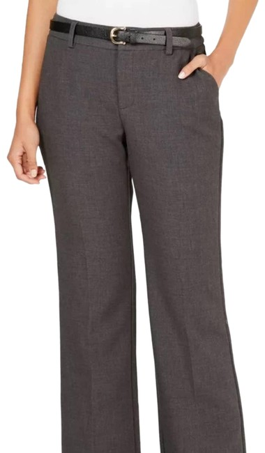 Item - Gray New Belted Heather Pants Size 12 (L, 32, 33)