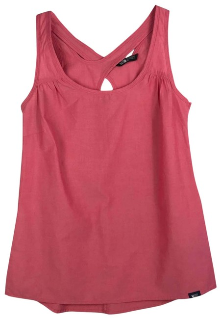 Item - Pink Cross Back Salmon Activewear Top Size 6 (S)