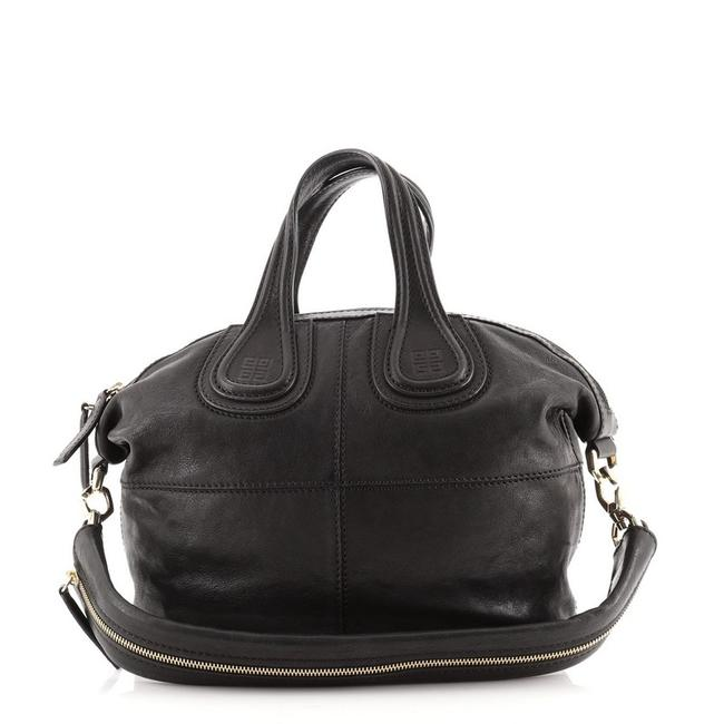 Item - Nightingale Small Black Leather Satchel