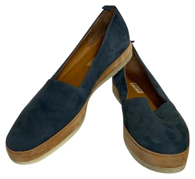 Item - Blue Slip On Flats Size US 8 Regular (M, B)