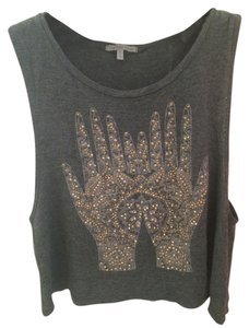 Charlotte Russe Top Gray