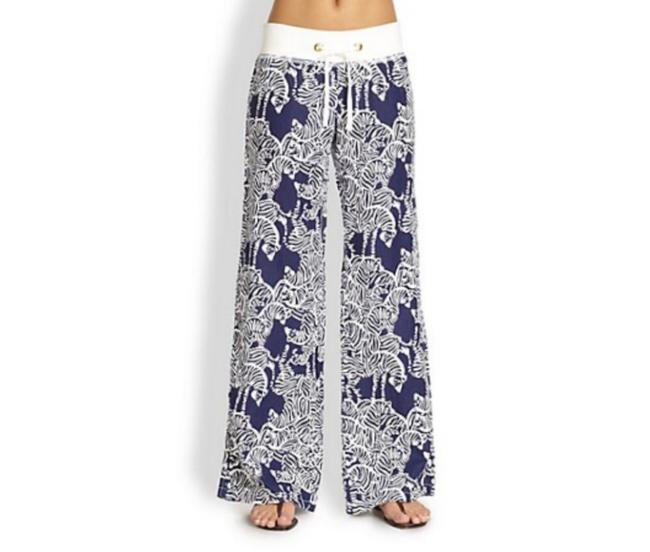 Item - Blue Entourage Zebra Beach Pants Size 2 (XS, 26)