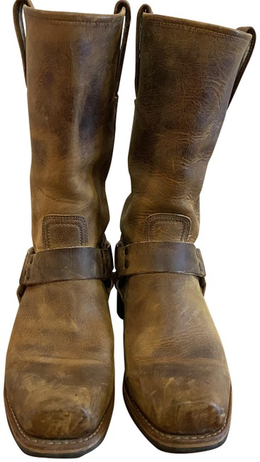 Item - Brown /Harness Boots/Booties Size US 9.5 Regular (M, B)