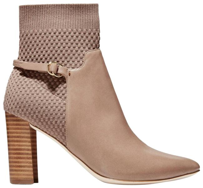 Item - Tan Camille Water Resistant Leather Boots/Booties Size US 9.5 Regular (M, B)