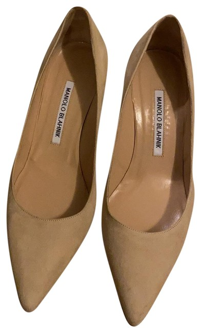 Item - Nude Suede Bb70 Pumps Size EU 37.5 (Approx. US 7.5) Regular (M, B)