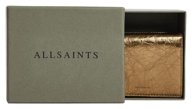 Item - Gold Leather Wallet