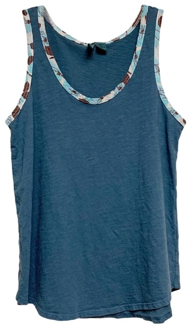 Item - Blue Left Of Center Slate Tank Top/Cami Size 4 (S)