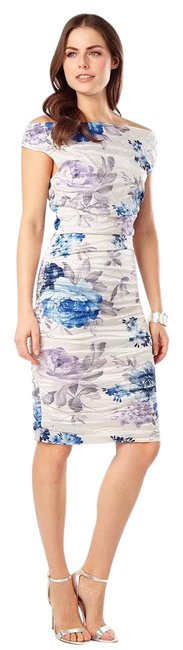 Phase Eight Floral Cindy Crush Mid-length Short Casual Dress Size 4 (S) Phase Eight Floral Cindy Crush Mid-length Short Casual Dress Size 4 (S) Image 1