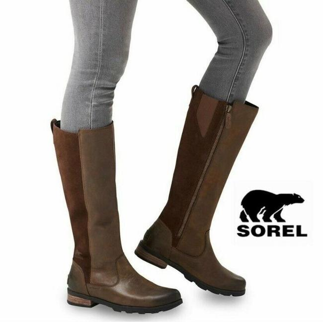 Item - Brown Emelie Waterproof Tall Riding Boots/Booties Size US 5.5 Regular (M, B)