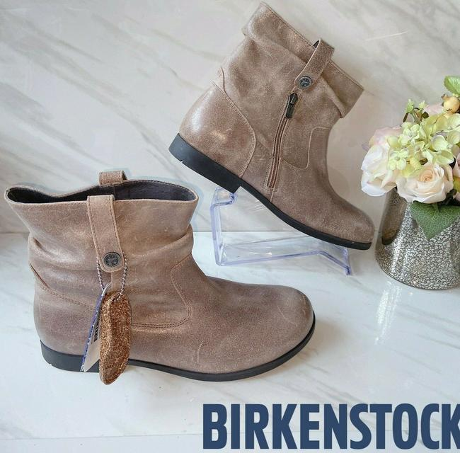 Item - Brown Sarnia Slouch Ankle Mud Distressed Boots/Booties Size US 5.5 Regular (M, B)