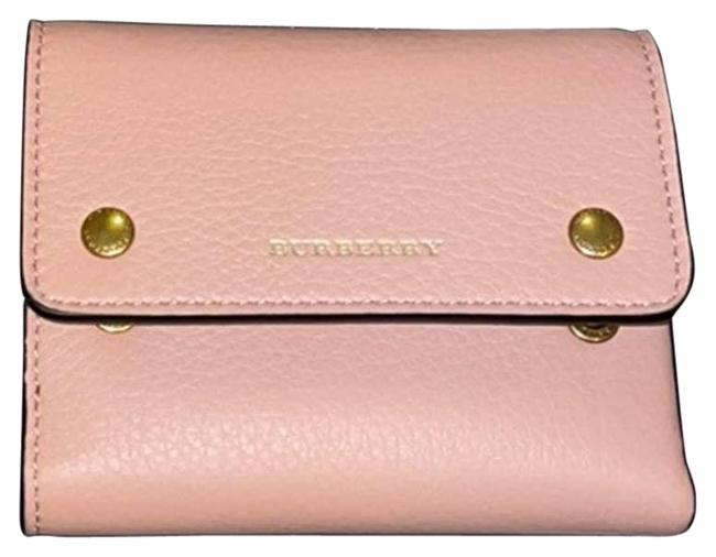 Item - Pink Ludlow Leather Trifold Italian Wallet