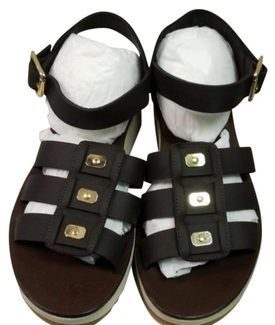 Item - Brown Leather Sandals Size EU 40 (Approx. US 10) Regular (M, B)