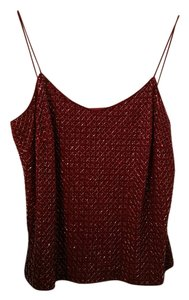 Ann Taylor Top Berry red