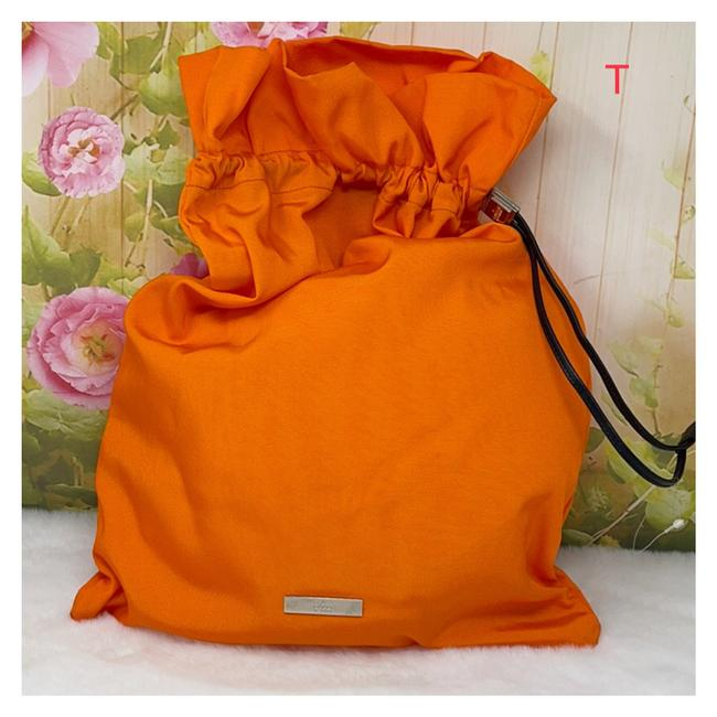 Item - Orange Canvas Backpack