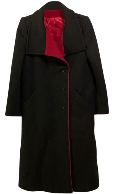 Item - Black and Red Coat Size 6 (S)