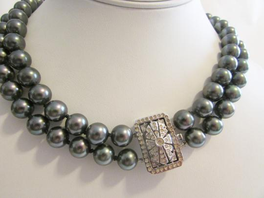 Pearlfection Pearlfection Faux Tahitian South Sea Pearl Necklace