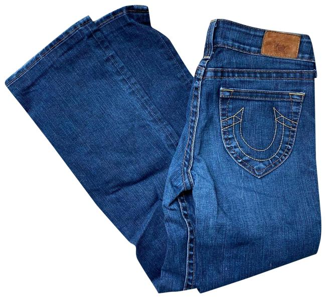 Item - Blue Medium Wash Exc Cond 30/30 Boot Cut Jeans Size 30 (6, M)