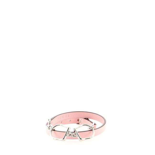 Item - Pink Etrier Double Tour Leather Bracelet
