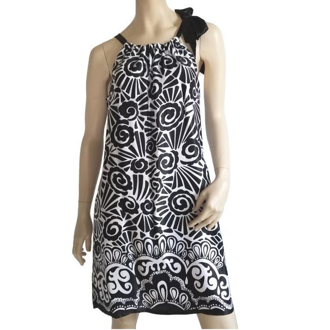 Item - and Silk Mid-length Night Out Dress Size 10 (M)