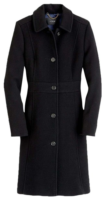 Item - Black Classic Day In Italian Double-cloth Wool with Thinsulate® Coat Size 00 (XXS)