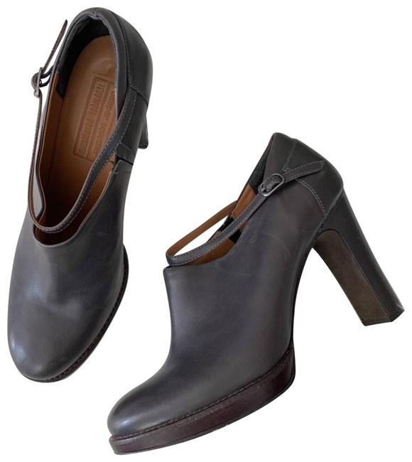 Item - Gray Together | Ankle Strap Boots/Booties Size EU 41 (Approx. US 11) Regular (M, B)