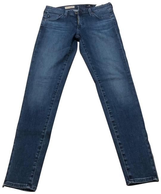 Item - Medium Blue Wash The Zip-up Legging Ankle Skinny Jeans Size 4 (S, 27)